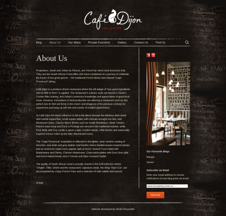 Café Dijon screenshot